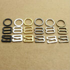 20 Pairs Metal Bra Strap Adjustment Slider Ring Fig 0+8 Lingerie Sewing Craft