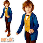 Newt Scamander Childs Fancy Dress Fantastic Beasts Film Character Costume Outfit
