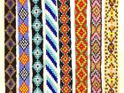 NEW LOOM HANDMADE NATIVE STYLE INSPIRED GLASS BEADS DIY CRAFTS SCRAPBOOK STRIP