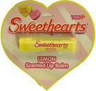 LOTTA LUV Lip Balm SWEETHEARTS Valentines Day KEYCHAIN+Heart Charm *YOU CHOOSE*
