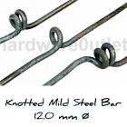 Steel Knotted Bar 12 mm - Balustrade Staircase Decking Handrail Security Bars
