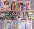 Job Lot Vintage Womens Magazines - 11 x Woman's Weekly,My Weekly & Woman & Home,