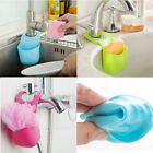 Useful Kitchen Drying Rack Cutlery Button Sponge Holder Dryer Bathroom Organize