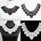 1Pc Off White/Black Collar Venise Lace Trims for Bridal Coustume Sewing Craft