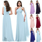 Sale~ Chiffon Bridesmaid Long Formal Evening Wedding Guest Party Gown Prom Dress