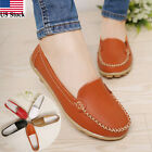 Kyпить Women Casual Leather Slip On Comfort Shoes Moccasin Oxfords Loafers Flat Shoes на еВаy.соm