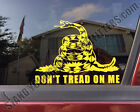 Don't Tread On Me Gadsden Flag Snake Liberty Or Death 2A Decal Sticker