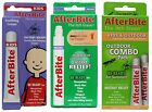 AFTERBITE Soothing ITCH ERASER Bug Bite Made In USA INSTANT RELIEF *YOU CHOOSE*