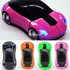 1800DPI PC USB Receiver Car Shaped 2.4G 3D Optical Mouse Mice For Laptop DZ88