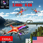 SHENGKAI D99A RC Quadcopter Drone WIFI FPV 2MP Camera 2.4G 4CH 6Axis US Stock