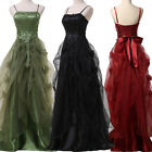 Victorian Vintage 50S Long Masquerade Ball Gown Evening Prom Party Formal Dress
