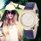 Fashion Women Watch Stainless Steel Diamond Rhinestone Analog Quartz Wrist Watch