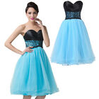 Short Homecoming Formal Party Dresses Bridesmaid Cocktail Evening Prom Ball Gown