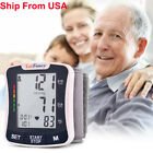 Automatic Digital Wrist Blood Pressure Monitor BP Cuff Gauge Machine Sensor Test