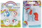My Little Pony School Stationery: 5 Piece Set / Erasers / Secrets Book / Pen