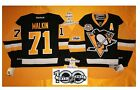 Malkin Home Pittsburgh Penguins Reebok Hockey Jersey 50th & NHL 100th patch 7185