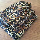 Sheet Set, Duvet Set & Bed Skirt Organic Cotton Tiger print 1000 TC USA