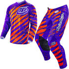 NEW 2016 TROY LEE DESIGNS GP AIR VERT GEAR COMBO PURPLE/ORANGE SIZE 32/LARGE