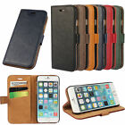 Vintage Luxury PU Leather Wallet Holder Stand Flip Case Cover(spw)