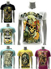 Emporer Eternity T-shirt Tattoo Pirates Skull King Indie Ghost Eagle Swag Cotton