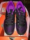 724858-015 NEW Womens NIKE Flex Trainer 5 Black Purple Silver Sz 6-10.5 $70