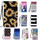 For Samsung Galaxy Note 2 3 4 Pu Leather Flip Folio Card Stand Wallet Case Cover