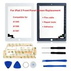 Front Touch Screen Digitizer Replacement For Apple iPad 2/3/Air/Pro Black/White