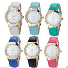Stylish Women's Watch Geneva Luxury Diamond Analog Leather Quartz Wrist Watches