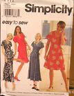 Simplicity 7111 Misses Dress Top Pants MANY SIZES OOP VINTAGE UNCUT