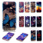 1x TPU Silicone Rubber Unique Soft Back Cover Blue Light Gel Case For New Models
