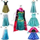 Kids Girls Princess Coronation Gown Fancy Dress Costume Party Cosplay dresses