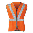 Mens High Visibility Hi Vis Viz Rail Safety Waistcoat GO/RT Zip Vest Jacket