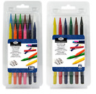 Woodless Colour Solid Pencils Artist Colouring Drawing Sketching Packs 6 or 12