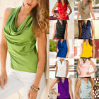 Fashion Women Summer Vest Top Sleeveless Blouse Casual Tank Tops T-Shirt Blouse