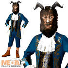 Beast Boys Disney Fancy Dress Beauty and the Beast Kids Childs Book Day Costume