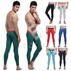 Men Slim Fit Cotton Tight Long Johns Warm Pants Bulge Underwear Leggings CA