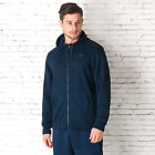 Mens adidas Essential 3 Stripe Print Hoody In Navy From Get The Label