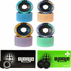 Speed Skate Wheels with Bearings - Atom Juke with Bionic Chrome or Swiss 8mm