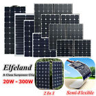 100 200 300 Watt Elfeland Class-A Sunpower Semi Flexible Solar Panel For RV Boat