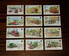 ISLE OF MAN MINT STAMPS RAILWAYS & TRAMWAYS DEFINITIVES 10.2.88 1P-19P CHOOSESET