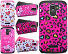 Alcatel ONETOUCH Fierce 2 HARD Hybrid Rubber Silicone Case Phone Cover Accessory