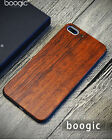 sculpture Natural Wood & soft German black gum hybrid Case with box for iphone