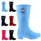 Unisex Kids Original Gloss Muck Winter Welly Waterproof Rain Snow Boot All Sizes