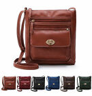 Women Lady PU Leather Handbag Shoulder Bag Tote Purse Messenger Hobo Satchel Bag