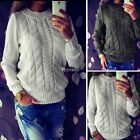 Fashion Women Long Sleeve Loose Sweater Knitted Cardigan Coat Jacket Outwear DZ8