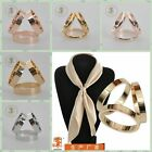 Hot Tri Ring Tricyclic Buckle Scarf Holder Scarf Buckle Scarf Ring Accessories
