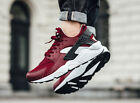 AUTHENTIC Nike Huarache Run Running Team Red Black White # 318429 603 Men sz