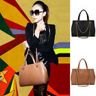 Crocodile Grain Lady Handbag Chained Handle Shoulder Bag Messenger Tote Satchel