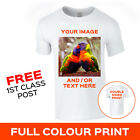 Custom Personalised Your Image Photo Printed Stag Hen Part Promo T-Shirt Tee Top