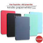"6"" Slim Leather Case Smart Cover Stand For Amazon Kindle Paperwhite Sleep/Wake"